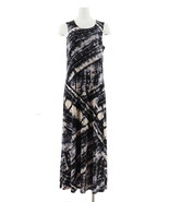 Attitudes Renee Printed Maxi Dress Tie Dye M NEW A306555 - $31.65