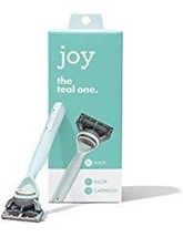 Joy. The Real One, Teal Razor with 2 Cartridges