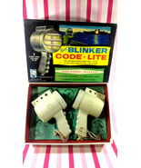 Vintage Hasbro Twin Navy Blinker Code Lite Battery Operated Toy Hassenfe... - $28.00