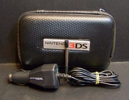 Nintendo 3DS Case Car Charger Stylus Accessories Lot - $9.49