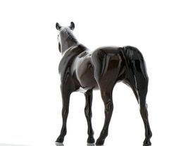 Hagen Renaker Miniature Horse Thoroughbred Race Citation Ceramic Figurine Boxed image 5