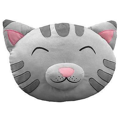 "The Big Bang Theory Soft Kitty Plush Cat Head/Face 16"" Throw Pillow, NEW SEALED"