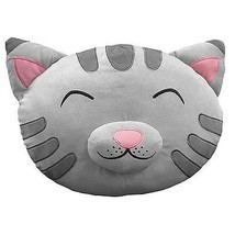 "The Big Bang Theory Soft Kitty Plush Cat Head/Face 16"" Throw Pillow, NEW... - $17.17"