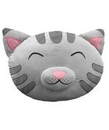 "The Big Bang Theory Soft Kitty Plush Cat Head/Face 16"" Throw Pillow, NEW... - £12.21 GBP"