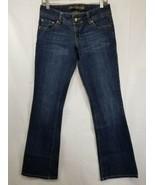 American Eagle Women's Size 6 Regular Blue Denim Jeans Factory Distresse... - $12.19
