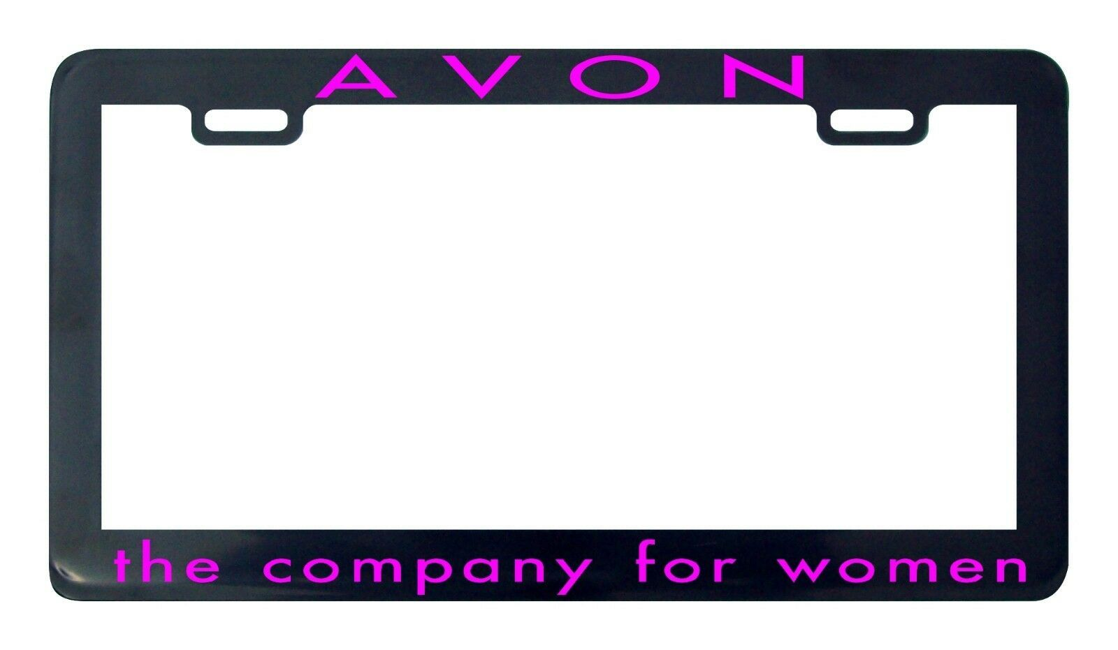 Primary image for Avon the company for women license plate frame holder