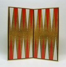 1976 Cardinal Backgammon Replacement 18 x 18 Game Board 135D - $9.99