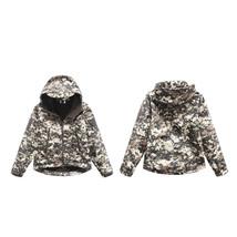 Tactical Combat Clothing ACU Windbreaker Children Softshell Outdoor Hood... - $38.00