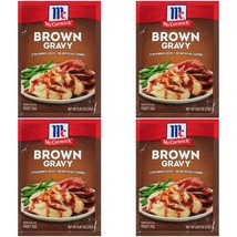 McCormick Brown Gravy Mix 4 Packs No MSG Best by 09/12/2022 - $12.99