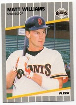 1989 Fleer San Francisco Giants Team Set - $0.94