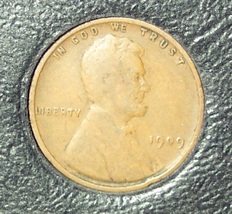 1909 VDB Lincoln Wheat Penny VG #0962 - $11.19