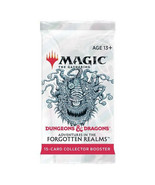 MTG Dungeons & Dragons Forgotten Realms SEALED 15 Card Collector Booster... - $35.63