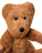 "Boyds Bear Plush Brown Jointed Bean Bag Stuffed Animal 2002 HTF Teddy Toy 10""  - $39.00"