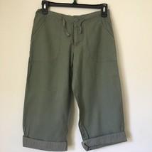 H&M Girls Khaki olive-green CAPRI PANTS. Size:12-13. Never worn. - $16.99