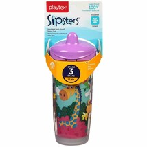 BRAND NEW Playtex Sipsters Insulated Spout Cup, Leak Proof, BPA FREE, 9 Oz 12 m+ - $10.87