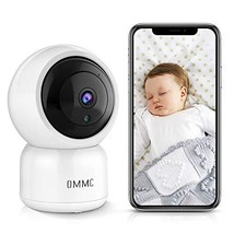 OMMC Wireless Security Camera 1080P, Baby Monitor Home IP Camera with Night Visi