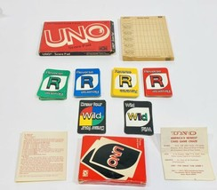 Vintage 1978 Uno Card Game & Score Card, With Boxes, Complete Game! - $14.99