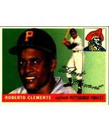 Lot of 5 1955 Topps #164 Roberto Clemente rookie reprint cards Pirates Mint - $5.94