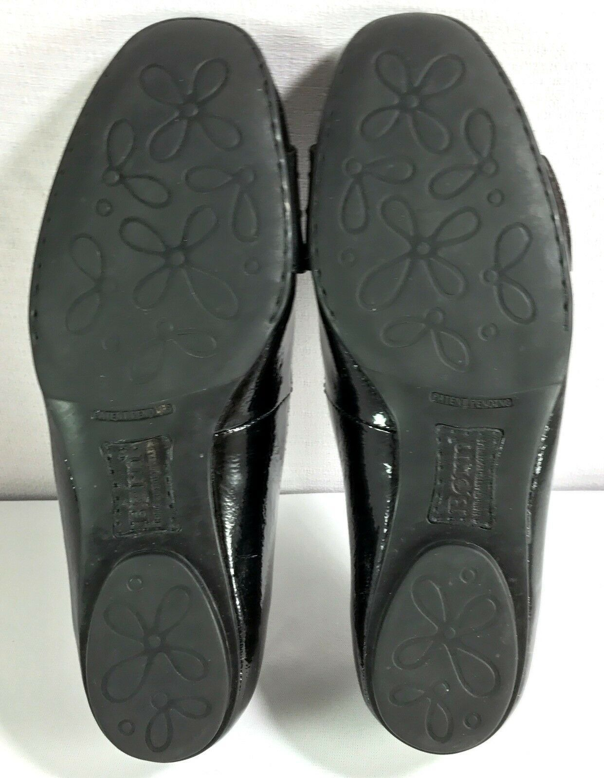 Born Ballet Flats Womens Black Patent Leather Slip On Shoes Size 9 / 40.5
