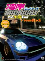 Anime DVD Wangan Midnight Vol.1-26 End *English Subtitle* All Region EXP... - $25.90
