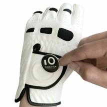 3 Pcs Soft Comfortable Cabretta Leather Mens Golf Glove Left Hand Right - $22.99