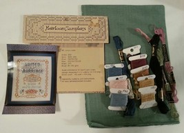 UNITED IN MARRIAGE Heirloom Patterns Vera K Cross Stitch Pattern & Kit - $14.47