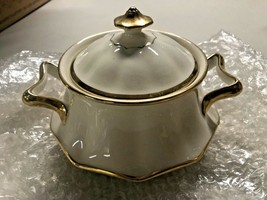 Johnson Brothers Sugar Bowl and Lid  white  or off white 5.5 inches approx - $24.99