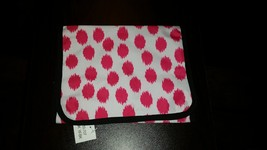 BNWT Pink Polka Dot Travel Organizer for JEWELRY or Misc HANGING ROLL UP... - €13,15 EUR