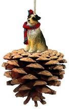 Conversation Concepts Australian Shepherd Brown W/Docked Pinecone Pet Ornament [ - $16.99