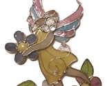 Stain glass fairy holding a flower wall plaque suncatcher 1 burned thumb155 crop