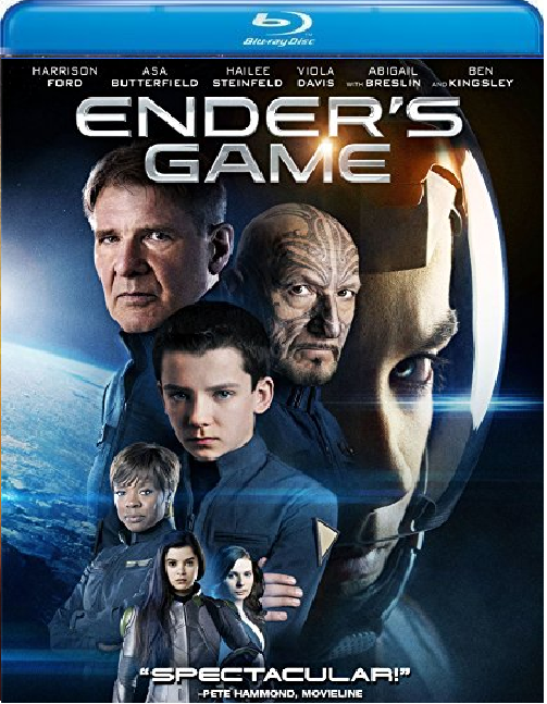Ender's Game [Blu-ray + DVD] (2014)
