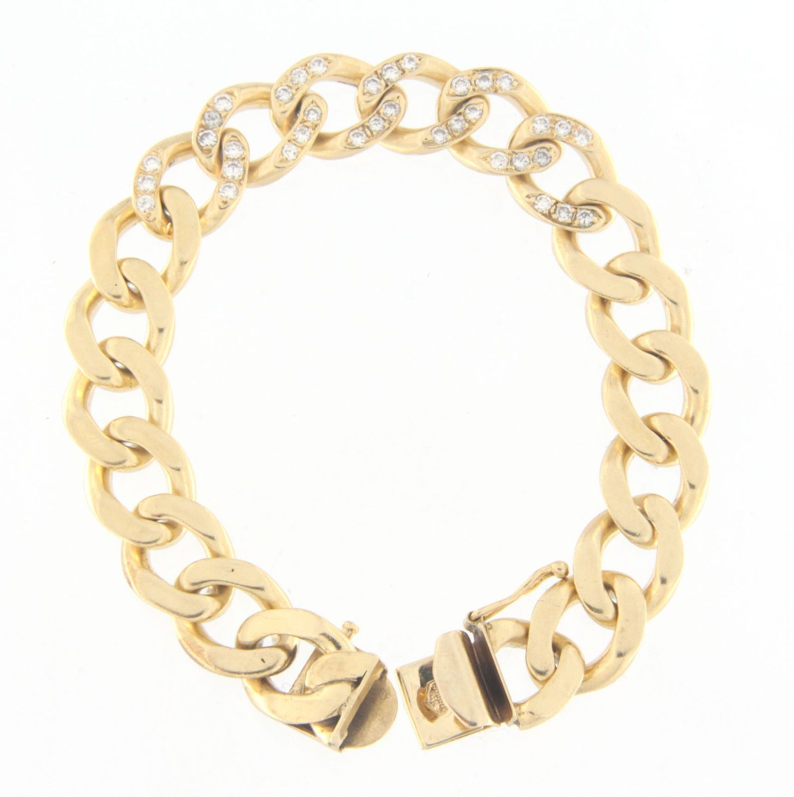 Men's 14kt Yellow Gold Bracelet