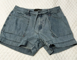 Riveted by Lee Women's Shorts Size 8M 4 Lg Pockets Zip Fly Drawstring in... - $20.67