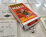 Vintage Tricks Magic and Puzzlers 20 Cards Built Rite Toy