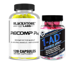 Blackstone Labs Recomp Rx and Hi Tech Pharma -- Big Cuts Stack - $86.94
