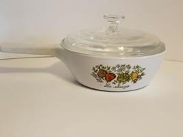 "Vintage Corning Ware Spice of Life La Sauge 5 1/2"" Sauce Pan W/ Lid  - $7.84"