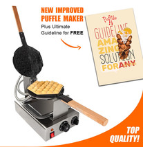 "PUFFLE WAFFLE MAKER ""ALD NP-547"" Professional Non-Stick 110V for EGG BUBBLE - ₨10,998.75 INR"
