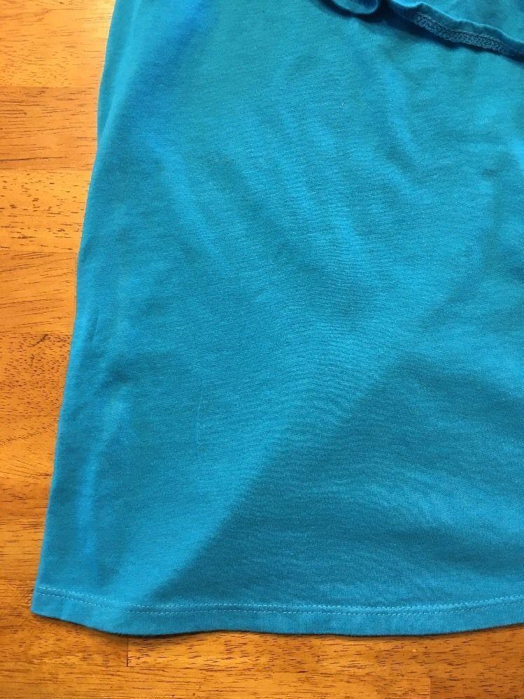 Arizona Girl's Blue One Shoulder Shirt / Blouse - Size: Medium 7/8 image 6