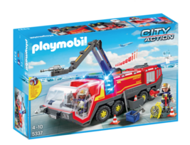 Playmobil Airport Fire Engine with Lights and Sound 5337 - $75.00