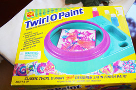 Twirl O Paint Makers of Etch A Sketch Ohio Art Vintage 1999 Classic Art ... - $19.60