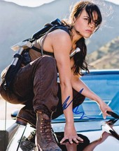 Michelle Rodriguez In-person AUTHENTIC Autographed Photo COA SHA #40900 - $60.00