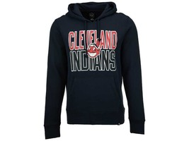Cleveland Indians Men's MLB Headline Power Alley Pullover Hoodie '47 Brand