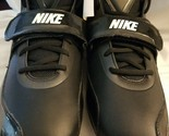 Nike Zoom Team Code D Cleats Blk/White 442258 011 Size 16