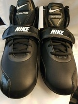 Nike Zoom Team Code D Cleats Blk/White 442258 011 Size 16 - $13.81