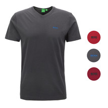 Hugo Boss Men's Soft Cotton Modern Fit Teevn V-Neck Shirt T-Shirt 50271056
