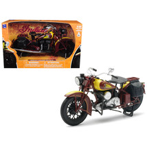 1934 Indian Sport Scout Bike Motorcycle 1/12 Diecast Model by New Ray NR... - $21.90