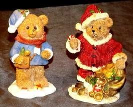 Bear Figurine (Pair) AA20-2335 Vintage