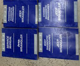 2002 JEEP WRANGLER Service Shop Repair Workshop Manual Set FACTORY W Dia... - $168.25