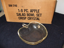 Colony Glass Company apple dishes - $39.99
