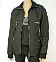 Vintage Jean-Paul Gaultier Jacket Women's Size 10 Black Femme Aeffe Spa ... - $199.00
